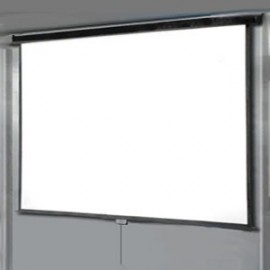 ECRAN RETRACTIL PARED Y/O TECHO Medidas : 4.00 x 3.00 mts. Cod: ERPT- 011