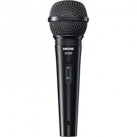 Micrófono Alambrico Shure Mod. SV-200W