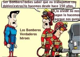 Los Bomberos verdaderos héroes
