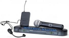 DOBLES - Micrófonos Inalámbricos Shure BLX1288/PG31  de Mano y de Vincha